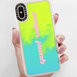 Casetify Neon Sand Liquid Phone Case for iPhone XS